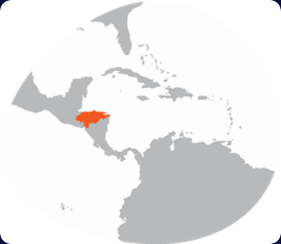 honduras-country-map