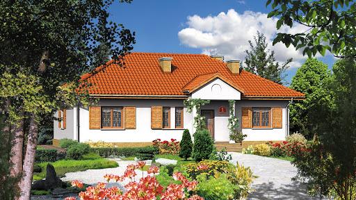 projekt Dom przy Bukowej