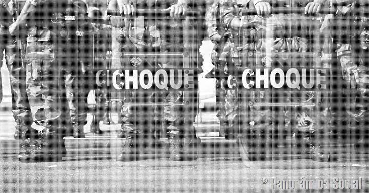 Força bruta no golpe de Estado