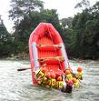 Maniobra de canguro en el río Fonce