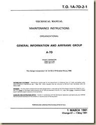 TO 1A-7D-2-1 (1 march 1981) General Info and Airframe Group_01