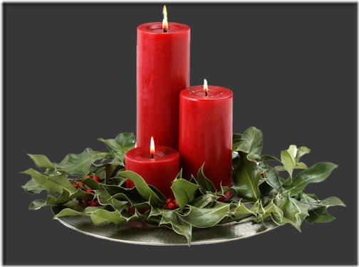 fotos velas de Navidad (4)