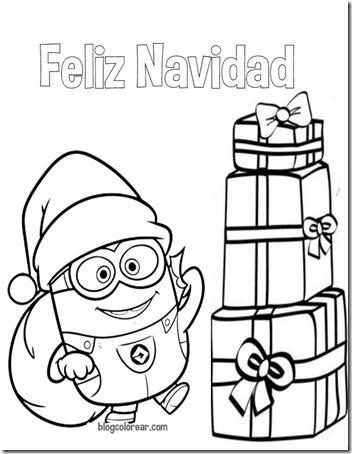 minions navidad 3