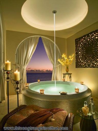 """18 chiếc bồn tắm cực """"cool"""" khiến bạn chìm đắm mãi không rời - Thi công trang trí nội thất-8"""
