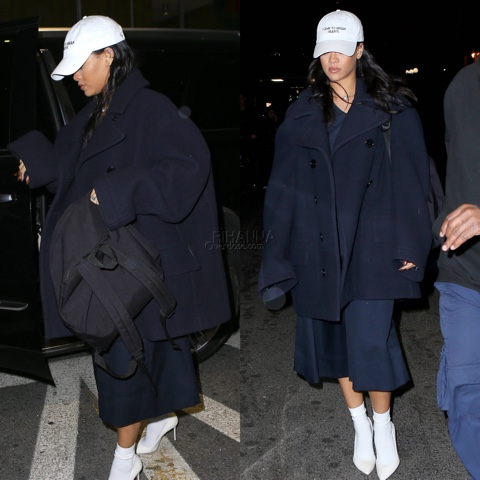 Rihanna in Millinsky NASASEASONS, Vetements