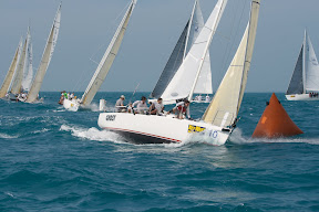 J/105 GHOST sailing Key West with Ken Colburn