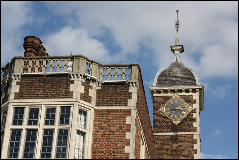 Charlton House - window and clock
