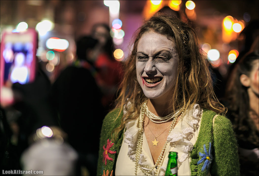 Парад зомби в Тель Авиве – Zombie Walk TLV 2013 | LookAtIsrael.com - Фотографии Израиля и не только...