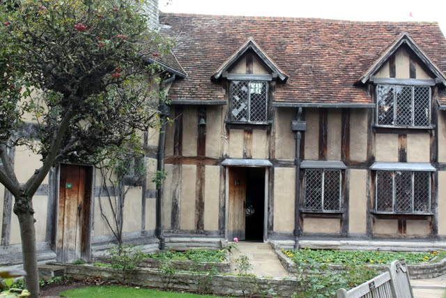 Shakespeare's birthplace in Stratford upon Avon England