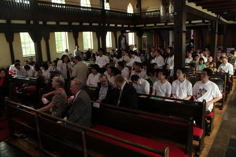 2012 年汉诺威华人基督徒团契成立 25 周年感恩崇拜