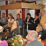 Lintje Gerard Buisman 21-05-2011 in de SLOS studio door wethouder Greven