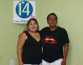 Photo: Aqui con Panchito Caramelo, el creador de la Araña Peluda