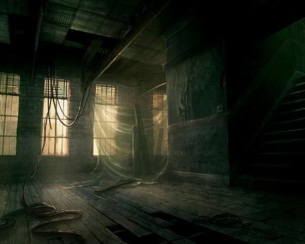 Old Black House, Magical Landscapes 1