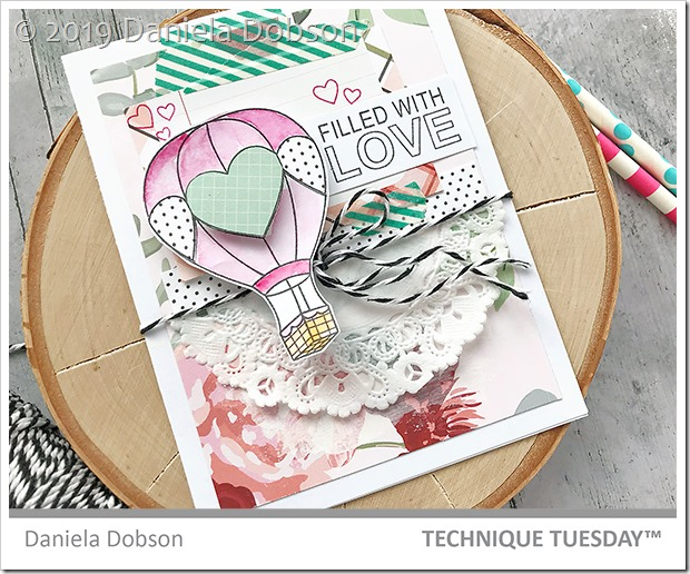 Filled with love close by Daniela Dobson