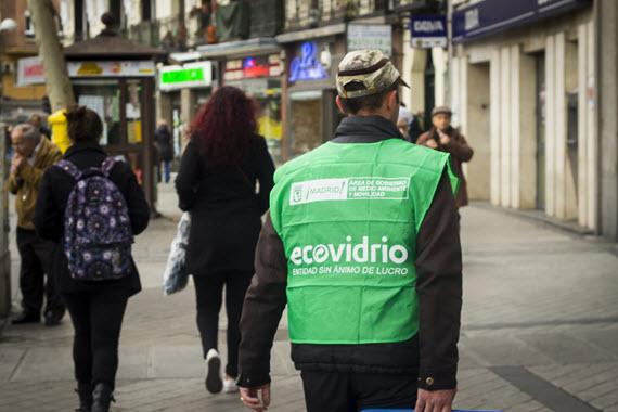Campaña 'El reciclaje de vidrio llama a tu puerta'