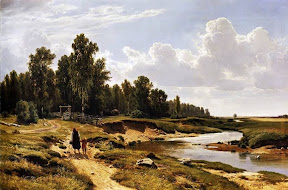 Речка Лиговка в деревне Константиновка близ Петербурга.1869 год.jpg