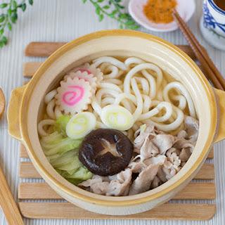 Udon Noodle Soup with Pork.