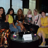 WWW.ENTSIMAGES.COM -      Zoe Thrasivoulou, Jasmin Walia, Abigail Clarke, Lewis -Duncan Weedon ,Lady Charlotte Lynam  and Sarah Brown at     SO ....? With attitude event Penthouse , Leicester Square London August 15th 2013                                                Photo Mobis Photos/OIC 0203 174 1069