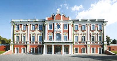 Кадриоргский дворец (Таллин, ул. Вейценберги 37).