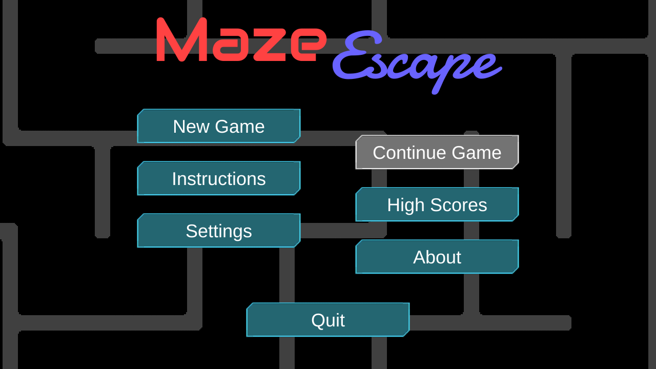Maze Escape- screenshot