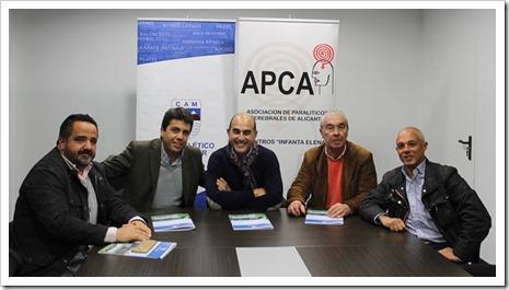 """""""III Torneo Benéfico de Pádel a favor de APCA"""", que se celebrará el sábado 16 de abril."""