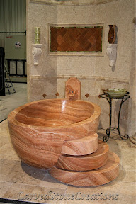 Bath, Bath Tub, Bathtub, Gallery, Interior, Kitchen & Bath, Natural, Onyx, Stone, Tubs