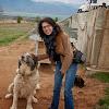 фермата за Щрауси в Долна Баня - Линда с куче