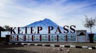 Ketep Pass view Magelang