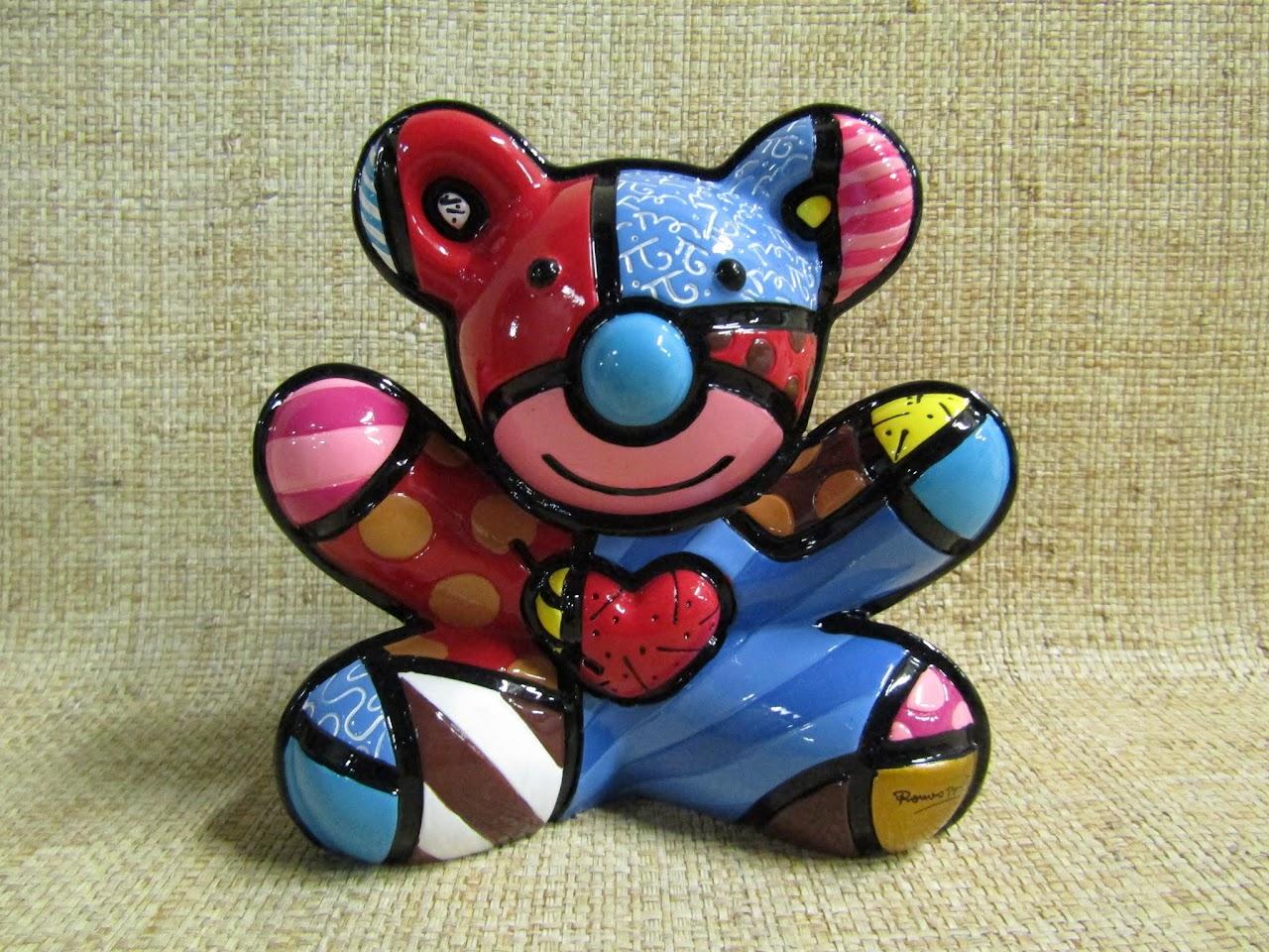 Britto 'Cuddly Bear' Figurine