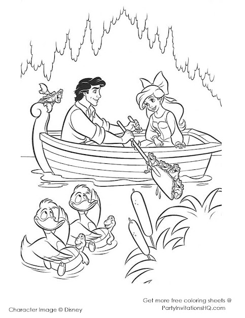 Little Mermaid Coloring Page  Pretty Little Mermaid Coloring Pages Drawing