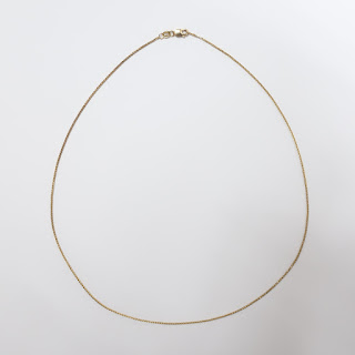 14K Gold Fine Chain Necklace (Lobster Claw)