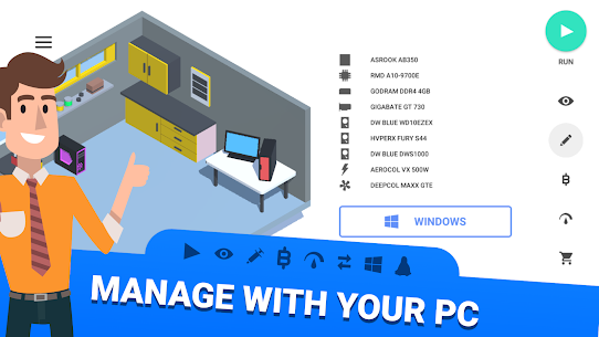 PC Creator Pro – PC Building Simulator Mod Apk (Unlimited Bitcoins) 1.0.77 5