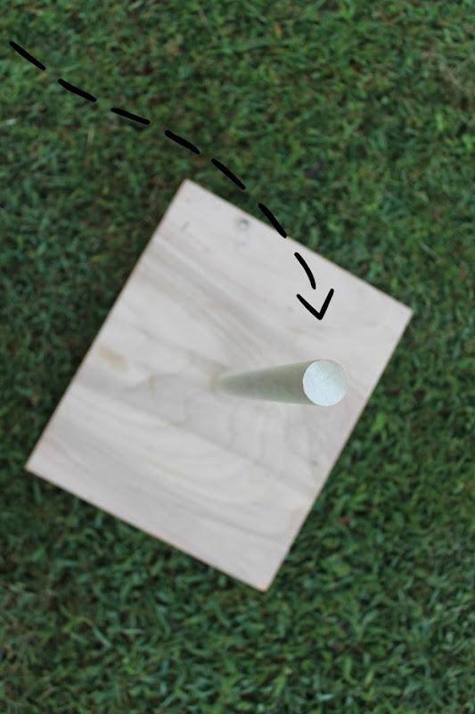 DIY ring toss game 1