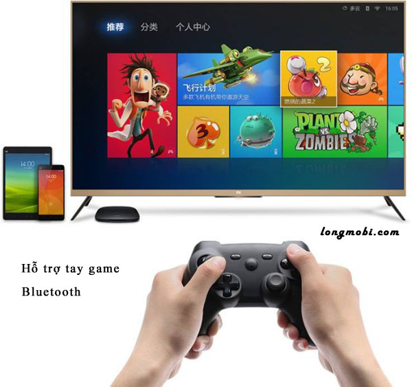 Hỗ trợ tay game bluetooth
