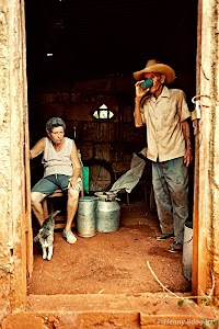 Two cuban farmers