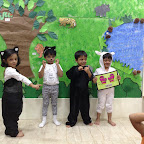 Rhyme Enactment 'Three Little Kittens' by Nursery section at Witty World (2015-16)