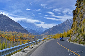 On KKH, Hunza Valley, Gilgit-Baltistan