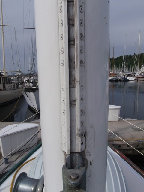 Sail Track Replacement - SparTalk