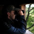 Michael beim Birden im Seewinkel