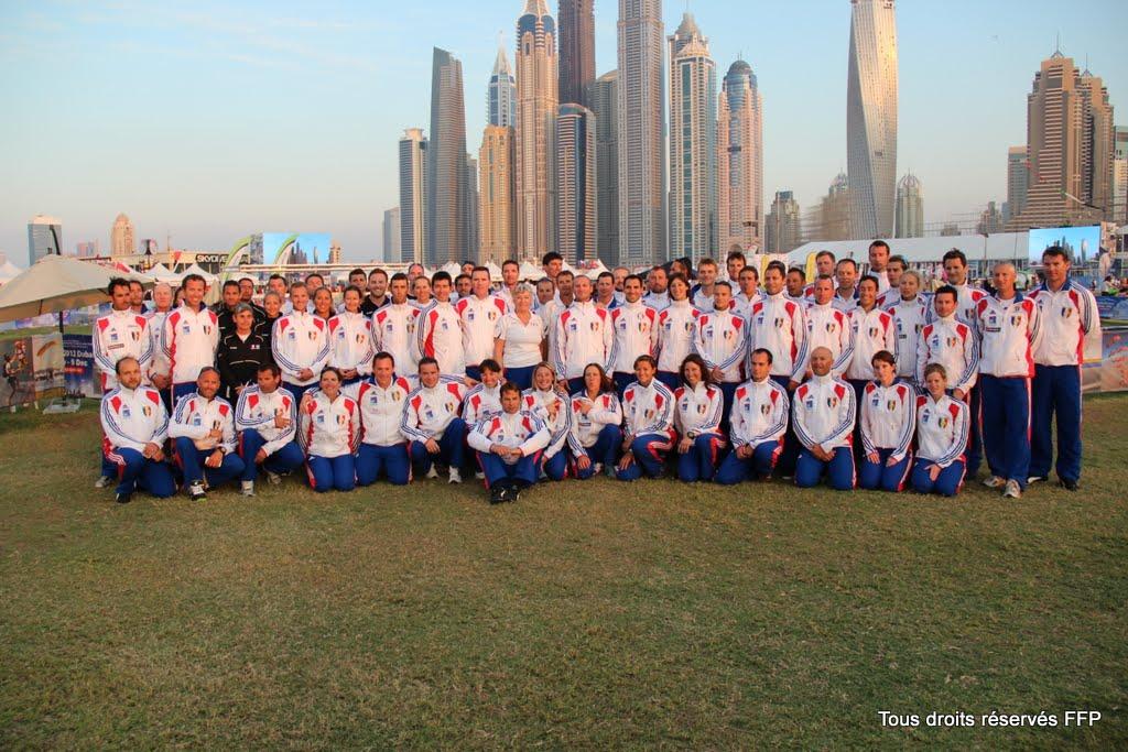 WPC 2012, Dubai, Equipes de france