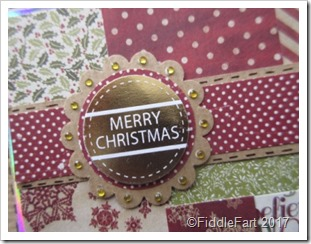 Patchwork Christmas Card 2