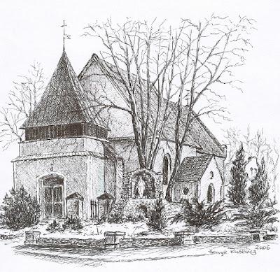 Gwizdanów – kościół św. Urszuli