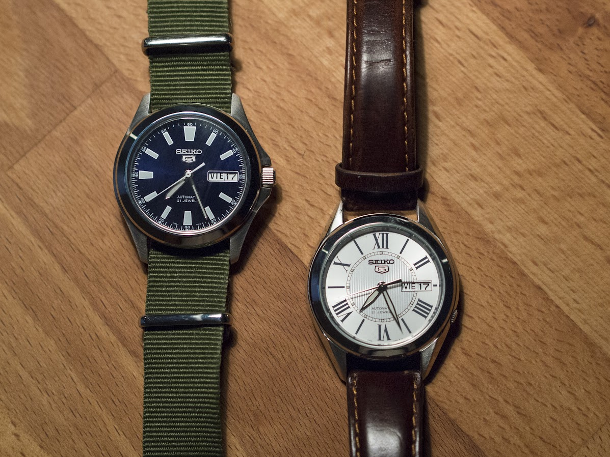 The Seiko SNKL07 and SNKL29