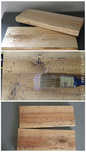 Sferruzz co t g house mensole a scomparsa legno di recupero for Mensole legno naturale