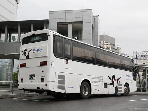 西鉄高速バス 夜行高速用車両 3802 リア