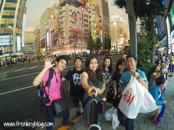 WeFie Asik di Akihabara