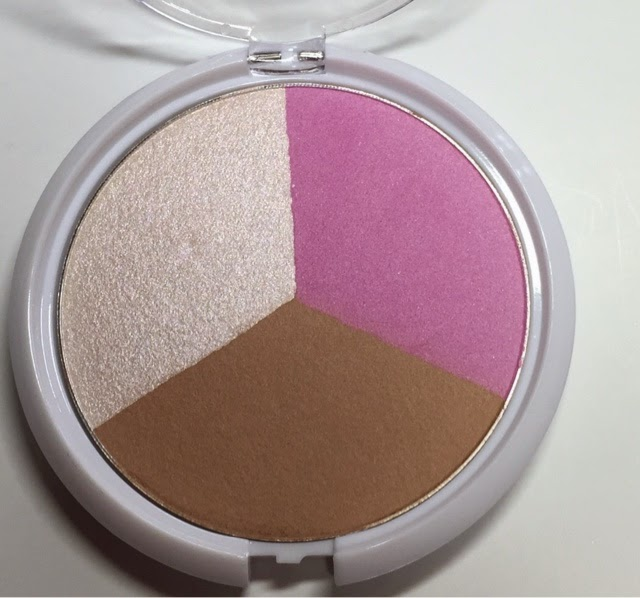 Lvmakeup wet n wild coloricon fair trade coffee blush and glow trio
