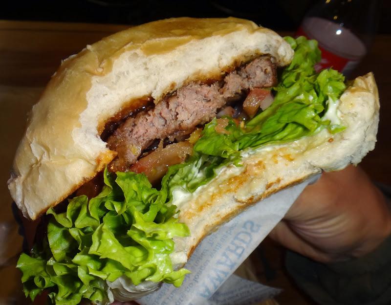 Der Fergburger in Queentown ist legendär
