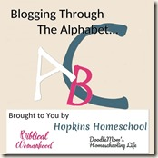 blogging-through-the-alphabet
