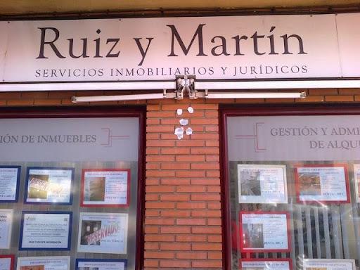 RUIZ Y MARTIN, SERVICIOS INMOBILIARIOS Y JURÍDICOS, VENTA Y ALQUILER DE PISOS Y LOCALES EN GETAFE
